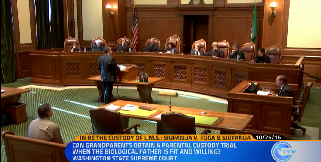 WA Supreme Court – Third Party Child Custody
